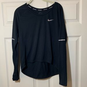 Nike   Dry Fit   Running   Long Sleeve   Top